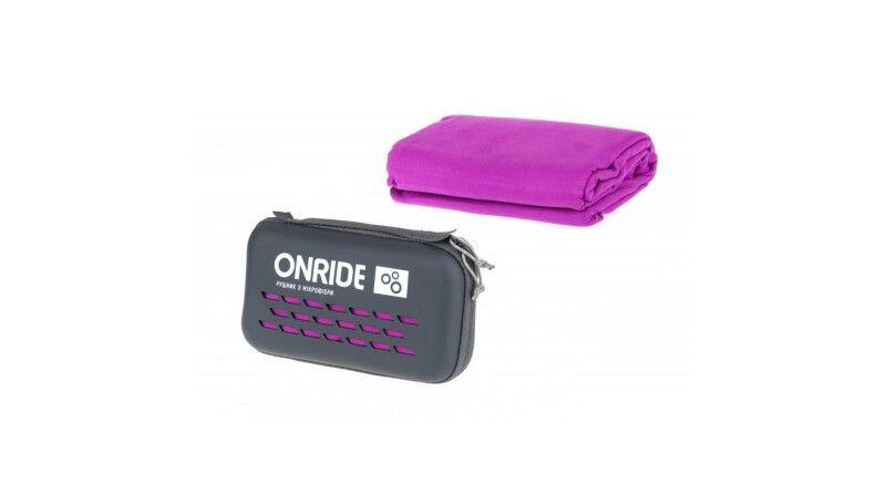 Рушник з мікрофібри ONRIDE Wipe 20 рожевий у кейсі