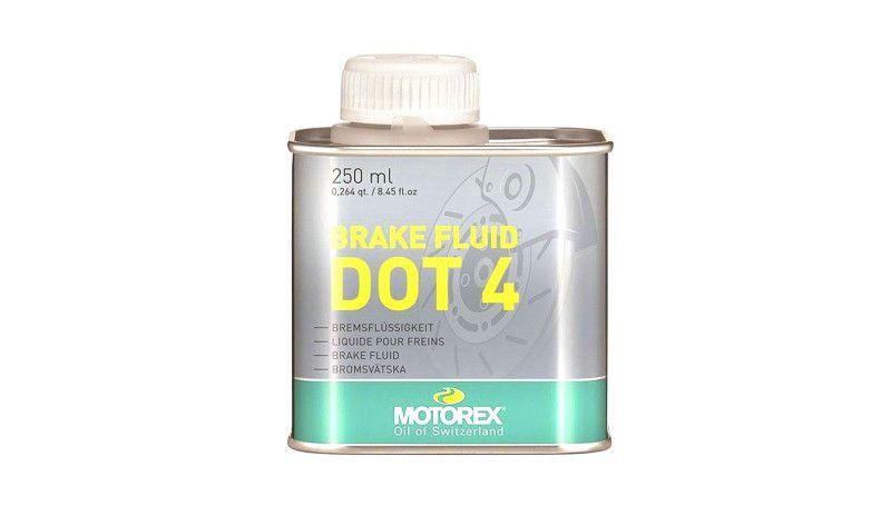 Гальмівна рідина Motorex Brake Fluid DOT 4 (300280) 250 мл