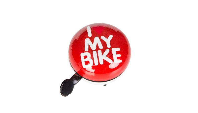 Дзвоник Дінг-Донг Green Cycle GCB-1058S I love my bike 80mm