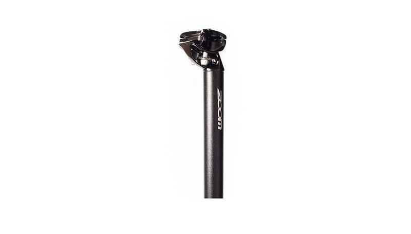 Підседільна труба 25.4мм ZOOM SP-C217/ISO-M, 350мм, SAND BLASTED AN BK
