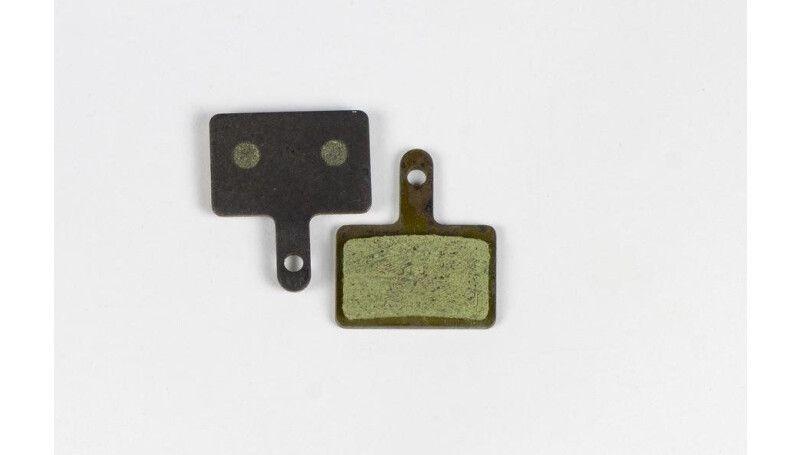 Гальмівні колодки Сomanche BP-10 Shimano Deore, чорно-золотистий