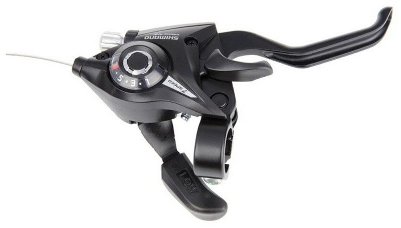 Шифтер Shimano ST-EF51 EZ-FIRE PLUS, 7 шв