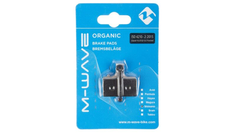 Гальмівні колодки Disc M-Wave Organic для Shimano XTR/XT/SLX