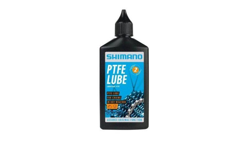 Мастило для ланцюга Shimano PTFE Lube для сухої погоди (100мл)
