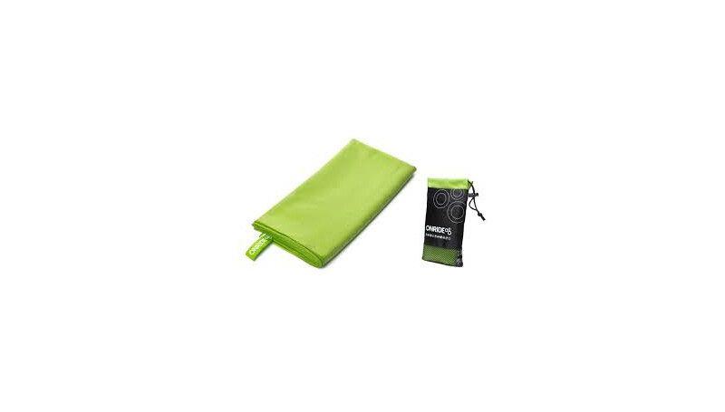 Рушник з мікрофібри OnRide зелений 375С