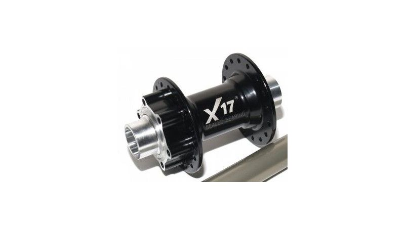 Втулка передня X17 DH Disk 20 мм вісь 32Н