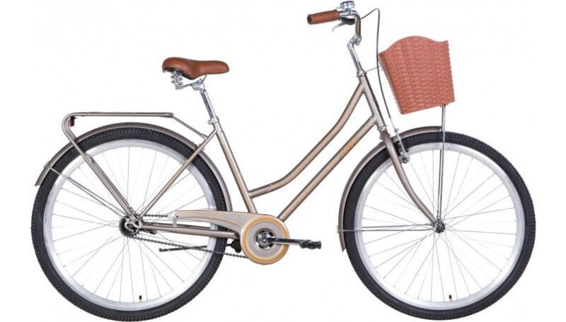 "Велосипед 28"" Dorozhnik TOPAZ  з багажником, крилом, кошиком"