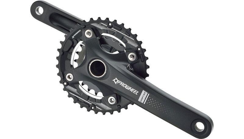 Шатуни PROWHEEL ZEPHYR-551 (10S) 175mm, 36/22T black