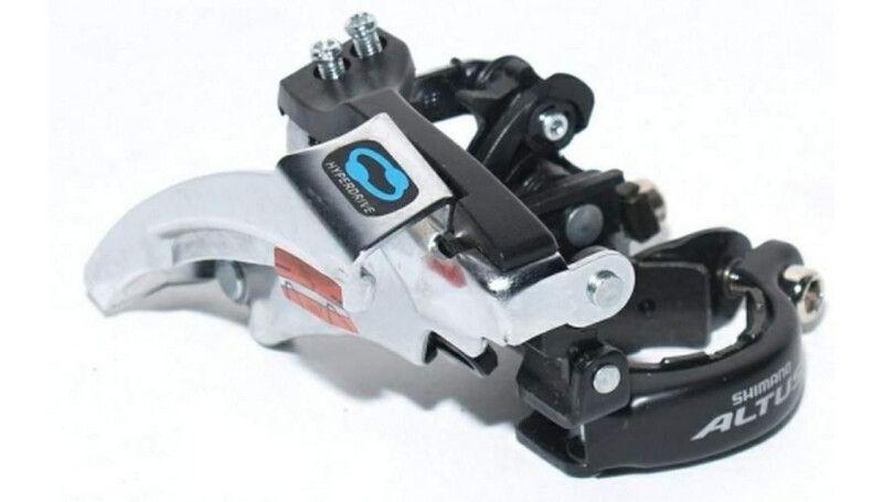 Перемикач передній Shimano FD-M310 Altus, TopSwing, 42/48T, 34.9/31.8мм