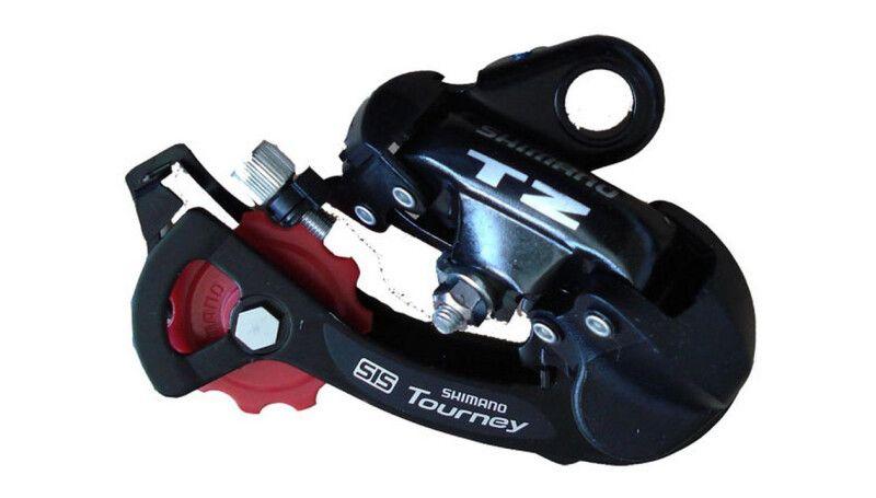 Перемикач задній Shimano Tourney RD-TZ50, 6 шв під болт
