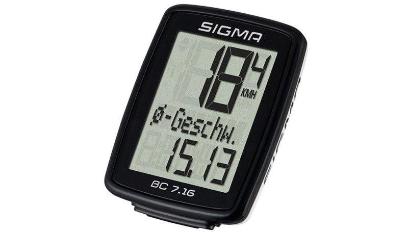 Велокомп'ютер Sigma Sport BC 7.16