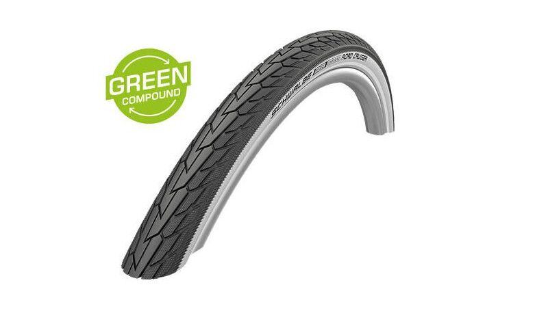 "Покришка 26"" Schwalbe Road Cruiser 26x1.75 (47-559) Active. K-Guard TwinSkin BN/BN+RT"