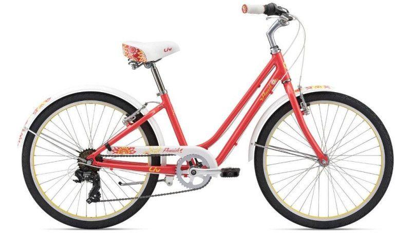 "Велосипед 24"" Liv Flourish Crimson"