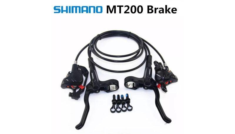 Гальма гідравлічні Shimano MT200 комплект (без роторів)