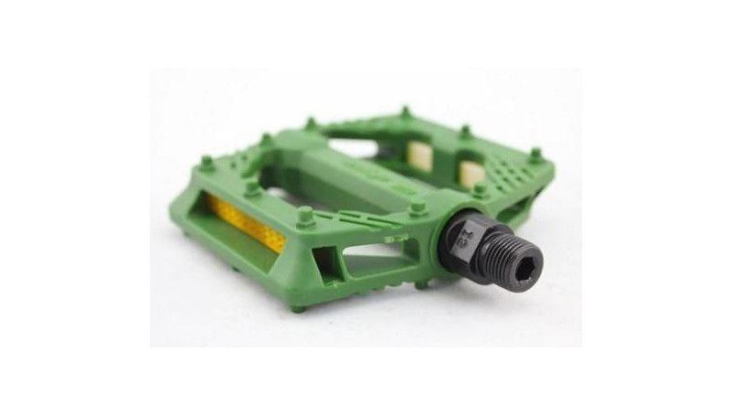 Педаль Wellgo B223N green
